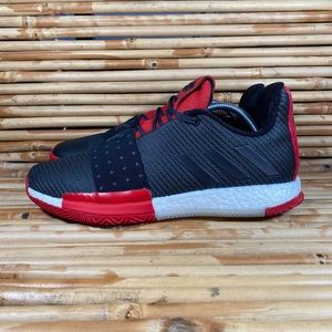 Adidas Harden Vol. 3 Black/Red Mens Size 10